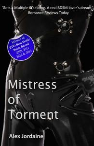 Mistress of Torment by Alex Jordaine Book Review