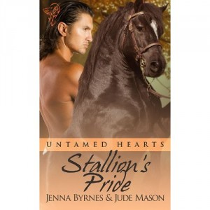 Stallion's Pride Untamed Hearts by Jude Mason and Jenna Byrnes Book Review