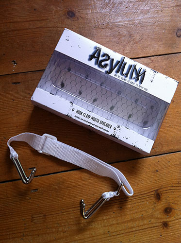 Asylum Medical Fetish Hook Mouth Spreader Gag Review by Cara Sutra