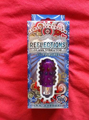 Doc Johnson Reflections Lil Pleasures Glass Bullet Vibrator Review