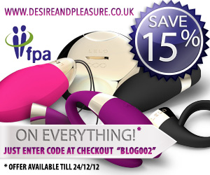 Save 15% at Desire and Pleasure this Christmas!