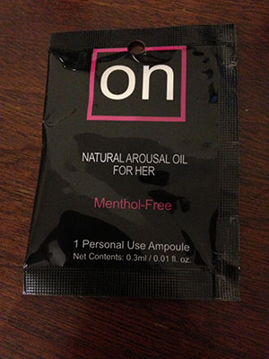 On Female Arousal Oil from Simply Pleasure
