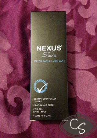 Nexus Slide Water Based Sex Lubricant Review