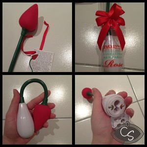 Evolved Rose Vibrator in Red Review by Cara Sutra