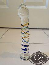 Sundew Medley Glass Dildo