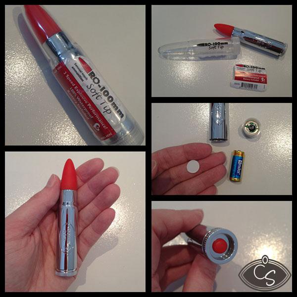 Rocks Off RO-100mm Soft Tip Bullet Vibrator in Red