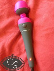 Palm Power Wand Vibrator With Attachments Review