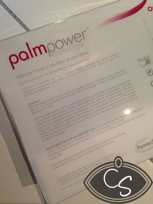 Palm Power Mains Powered Massager Wand