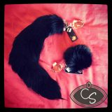 Crystal Delights Crystal Minx Black Fox Tail Butt Plug Review