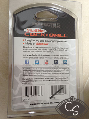 Perfect Fit SilaSkin Cock & Ball Harness - Man Sex Toy