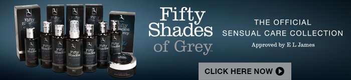 fifty shades of grey sensual care collection and sex toys