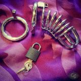 UberKinky Spiral Stainless Steel Penis Chastity Device Review