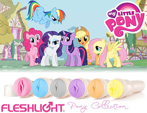 My LIttle Pony Fleshlight & Sex Toys