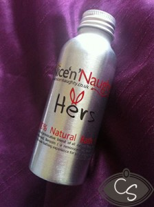 nice n naughty own brand bath oil review