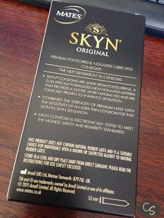 Mates SKYN Original Latex Free Condoms Review
