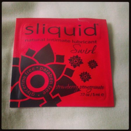 Sliquid Swirl Strawberry And Pomegranate Lube Review