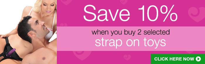 Lovehoney strap on offer