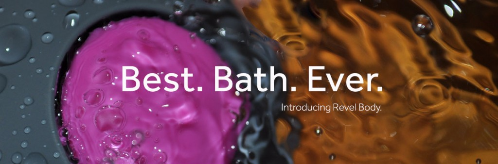 Revel Body under water in the bath review