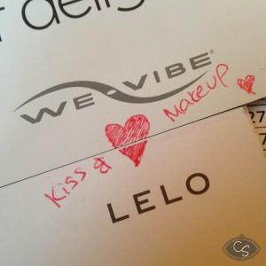 lelo and we-vibe kiss and make up