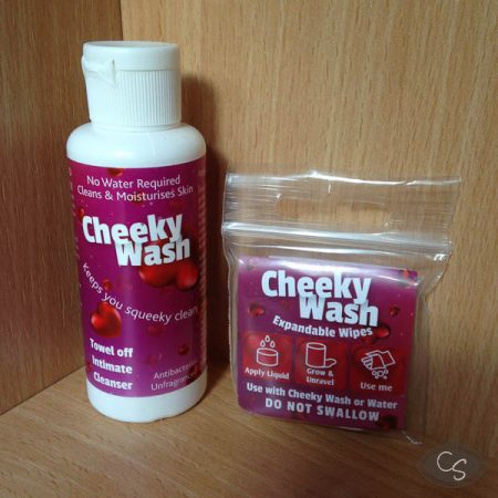 Give Lube Cheeky Wash and Expandable Cheeky Wipes Review