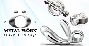 MetalWorx steel sex toys and dildos - cheapest price & offers