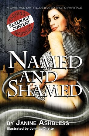 Named and Shamed Janine Ashbless erotic book