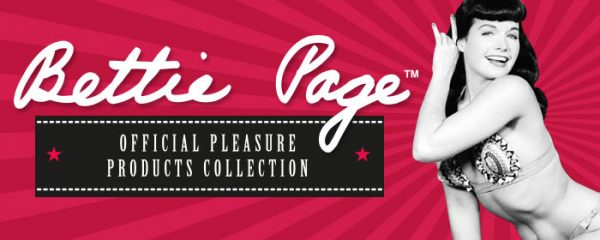 Bettie Page Official Pleasure Products Collection Lovehoney
