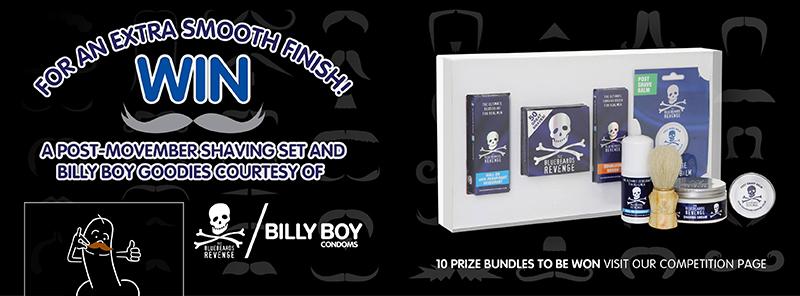 billy boy condoms movember