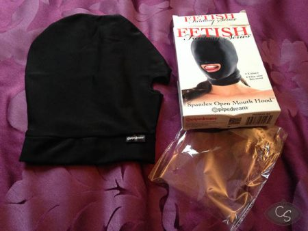 Fetish Fantasy Spandex Open Mouth Hood Review