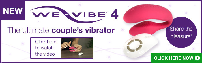 we-vibe 4 couples vibrator offer at Lovehoney