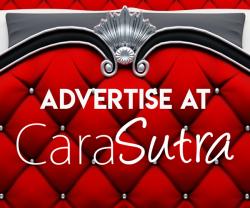contact Cara Sutra to book an advert