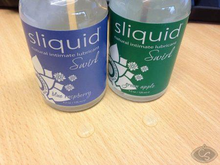 Sliquid Swirl Blue Raspberry & Green Apple Lubes Review
