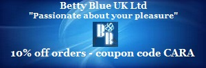 Betty Blue UK - sex toys shopping