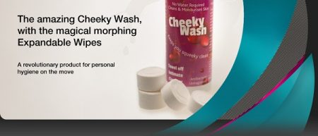 Cheeky Wash & Expandable Wipes Review