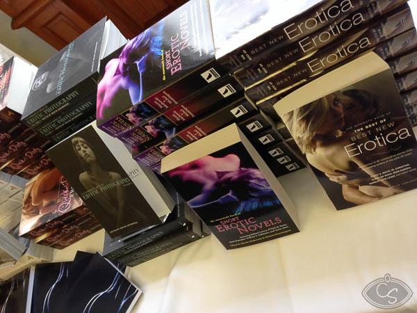 books at eroticon 2014