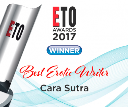 ETO Awards 2017 Winner Best Erotic Writer Cara Sutra
