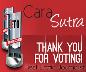 Vote Cara Sutra Best Erotic Journalist in the ETO Awards 2016