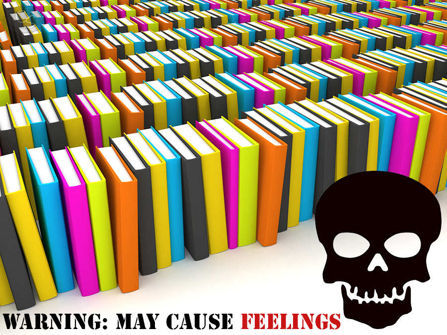 dont put trigger warnings on my books - cara sutra