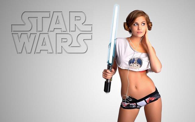 star wars geek porn