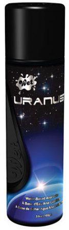 wet uranus water based anal lube midnight play