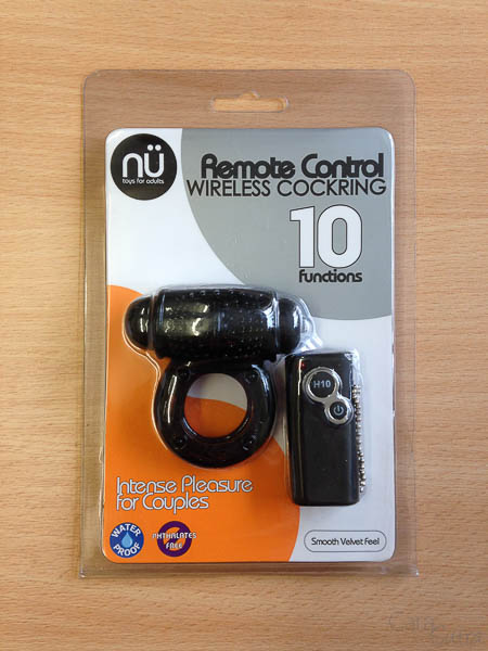 Nu 10 Function Waterproof Remote Control Wireless Vibrating Cock Ring