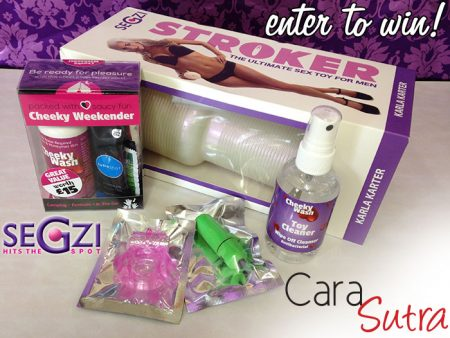 Competition: Win The Brand New Segzi Stroker For Men, Plus Couples Sex Toys & Lube!
