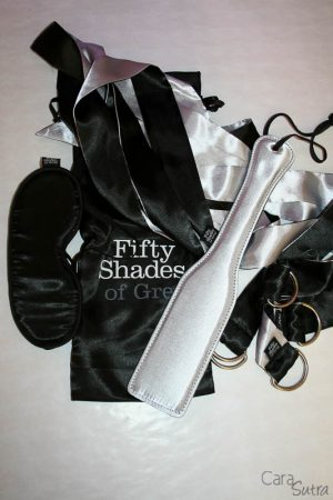 Fifty Shades of Grey Submit to Me Beginner's Bondage Kit Review