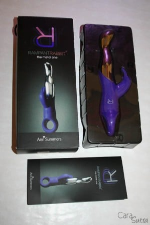 Ann Summers Metal One Rampant Rabbit Vibrator Review