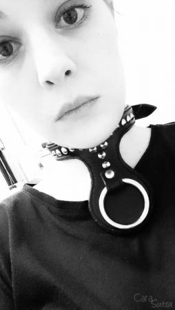 UberKinky Spiked Leather Bondage Collar with Large O Ring Review
