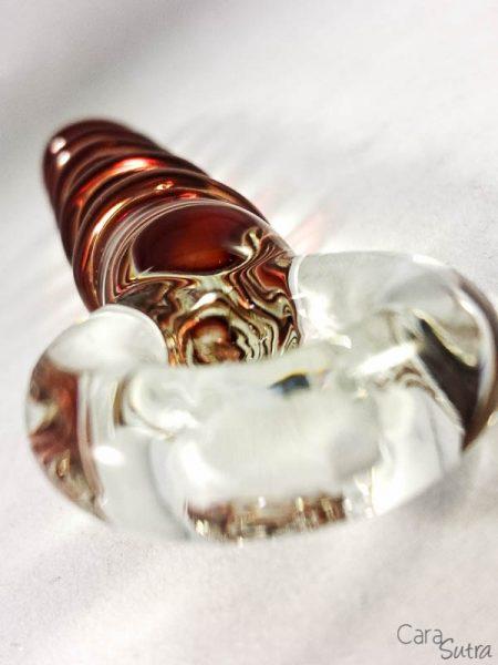candy cane glass dildo review - CS-10