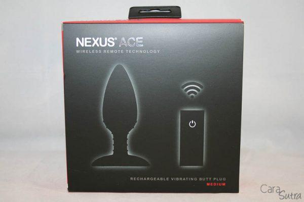 Nexus Ace Remote Controlled Butt Plug-CS-800-2