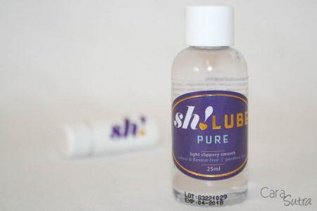 Sh! Womenstore Bullet Vibrator & Pure Water-Based Lube Reviews