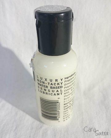 Liquid Silk lube review freedoms shop 2