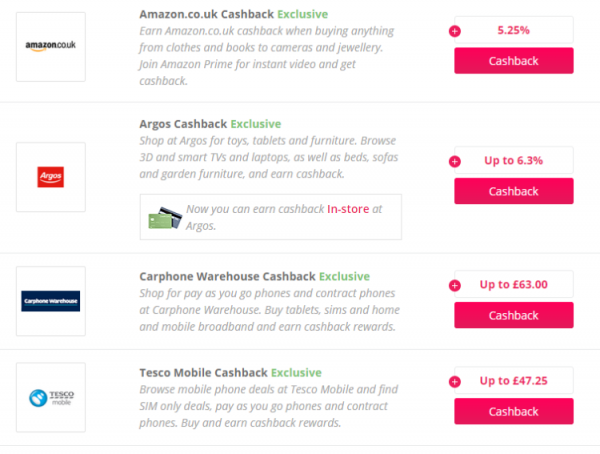 What is a cashback site Hella Rude 3